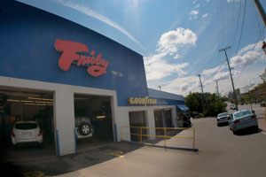 Ottawa Centre Town Frisby Tire